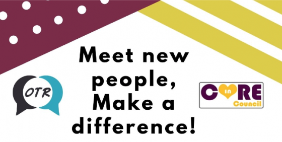 Meet new people, Make a difference!